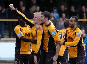 Boston United 1-2 Gainsborough Trinity 14-04-2012 (Selection of 17 Items)