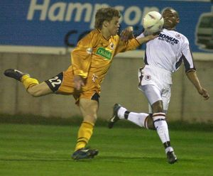 Boston United 1-2 Hull City 31-03-2004