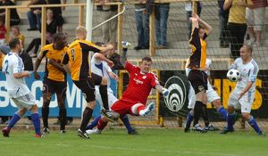 Boston United 1-2 Vauxhall Motors 20-08-2011 (Selection of 12 Items)