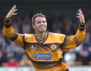 <b>Boston United 2-0 Torquay United 29-10-2005</b><br>Selection of 8 items