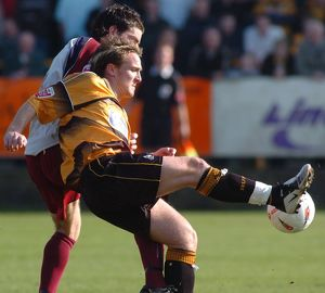 Boston United 2-1 Cheltenham Town 02-04-2005