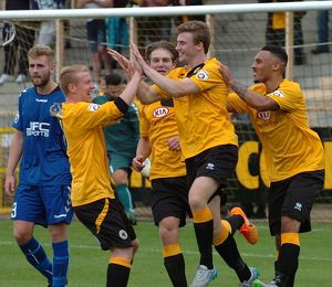Boston United 2-1 Curzon Ashton 15/08/2015 (Selection of 45 Items)