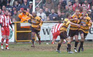 <b>Boston United 2-1 Lincoln City 18-03-2006</b><br>Selection of 21 items