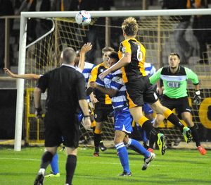 Boston United 2-7 Oxford City 09/09/2014