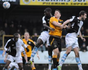 Boston United 3-1 Hednesford Town 23/01/2016