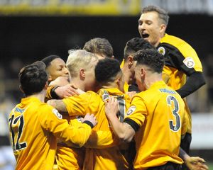 Boston United 3-1 Hednesford Town 23/01/2016 (Selection of 39 Items)