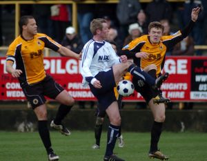 Boston United 3-3 Guiseley 28-04-2012 (Selection of 16 Items)