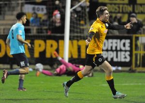 Boston United 4-0 Stockport County 19/12/2015