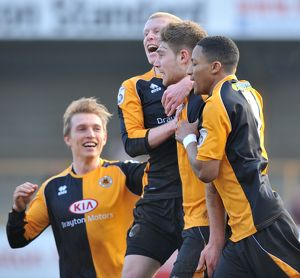 Boston United 5-0 Bradford Park Avenue 14/02/2015