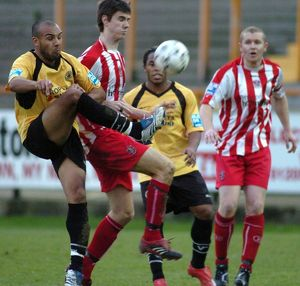 Boston United 5-1 Leigh RMI 05-01-2008