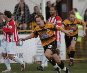 Boston United 5-2 Hornchurch 13-11-2004