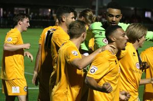 Brackley Town 1-3 Boston United 18/08/2015