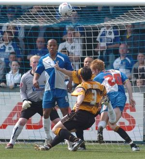 <b>Bristol Rovers 3-1 Boston United 22-04-2006</b><br>Selection of 9 items