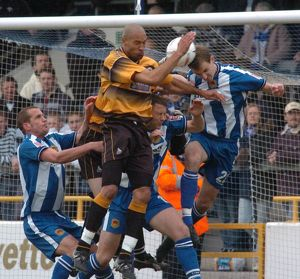Chester City 2-1 Boston United 09-04-2005