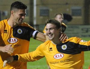 Corby Town 2-3 Boston United 16/09/2015 (Selection of 32 Items)