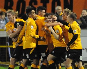 Boston United 3-3 Harrogate Town 10/11/2015 (Selection of 47 Items)
