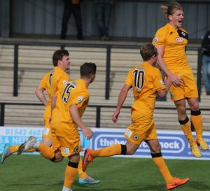 Hednesford Town 3-2 Boston United 05/09/2015 (Selection of 25 Items)