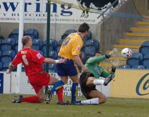 Mansfield Town 5-0 Boston United 11-03-2006