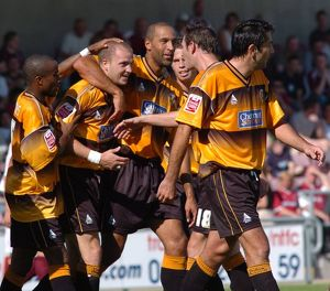 <b>Northampton Town 3-2 Boston United 29-08-2005</b><br>Selection of 8 items