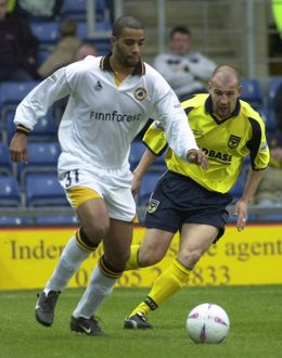 Oxford United 2-1 Boston United 01-03-2003