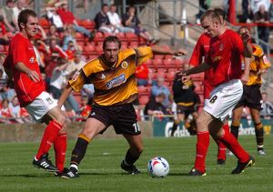 <b>Wrexham 2-0 Boston United 06-08-2005</b><br>Selection of 9 items