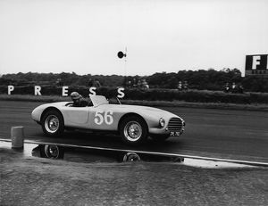 1953 AC Ace prototype. 8 Clubs Silverstone 1954. CD2898