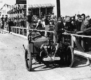 200 mile race 1922 Morgan Anzani engine. Douglas Hawkes, Brooklands 1922