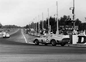 Ferrari 250 GTO 1963 Le Mans. Dumay-Dernier. Finished 4th overall