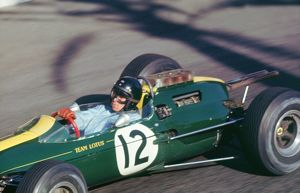 Lotus 25, Jim Clark, during Monaco Grand Prix 1964