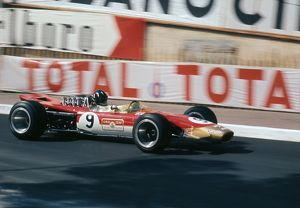 Lotus 49 Gold Leaf, Graham Hill. 1968 Monaco Grand Prix
