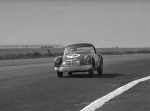 MGA Twin Cam. D.G. Dixon. Silverstone 16th May 1959