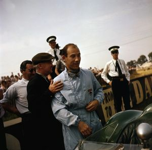 Stirling Moss at Silverstone 1959