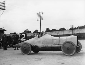 Straker Squire 18.8 litre at Brooklands 1910