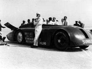 Sunbeam 1000hp World Land speed record attempt at Daytona 1927