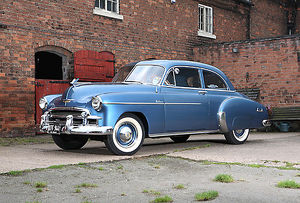1950 Chevrolet Styleline De Luxe 2dr Coupe, Release signed