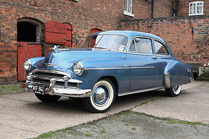 1950 Chevrolet Styleline De Luxe 2dr Coupe, owned by Ian Stewart -Tel: 01283 703521