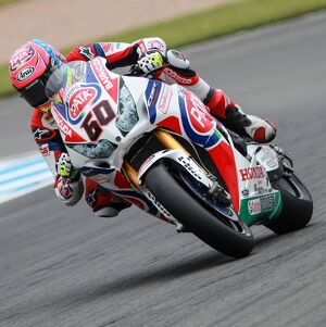 2015 World Superbike Round - Donnington Park, UK Michael van der Mark, Honda CBR