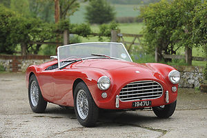 AC Ace Bristol Roadster 1957 Red