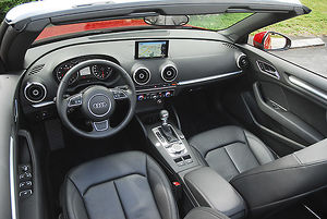Audi A3 Cabriolet 2015 Red