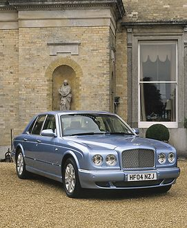 Bentley Arnage R 2004 Blue ice