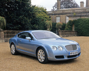 Bentley Continental GT 2004 Blue ice