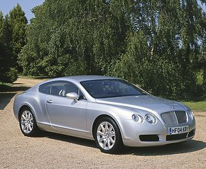 Bentley Continental GT 2004 Silver light