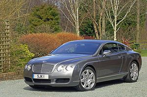 Bentley Continental GT Mulliner 2006 Grey metallic