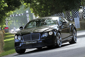 Bentley Continental GT Speed (new model for 2015) 2015 Black