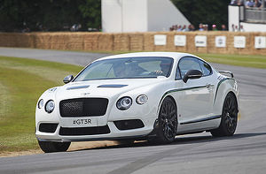 Bentley Continental GT3R 2014 White