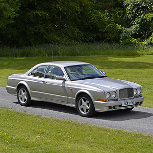 Bentley Continental R 2002 Silver