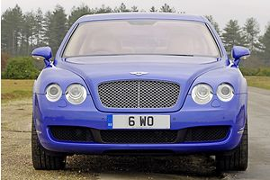 Bentley Flying Spur 2006 Blue mid