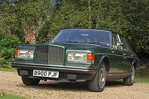 Bentley Mulsanne Turbo 1985 Green dark
