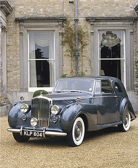 Bentley Teardrop Sedanca 1948 Grey