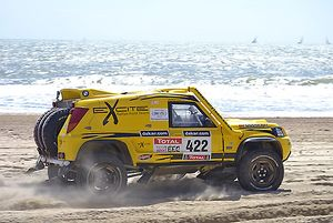 Bowler Nemesis (Rallye Raid Team) 2007 Yellow